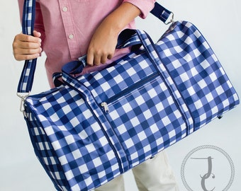 Monogrammed Duffle Bag - Personalized Duffle Bag, Kids Duffle Bag, Dance Bag, Sleepover Bag, Travel Bag, Hospital Bag, Boys Duffle Bag, Owen