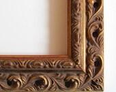 Carved Gold Frame...9x9 inch
