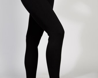 Merino Ponte Wool Leggings (Handmade in Melbourne)