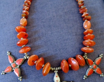 Vintage tribal moroccan necklace