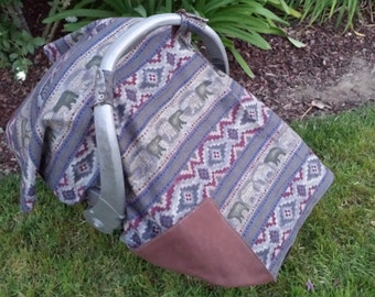 Baby Car Seat Cover Camping Baby