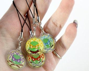 Teenage Mutant Ninja Turtles Acrylic Charms