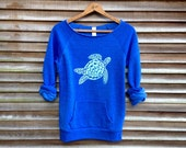 be still my Sea Turtle Sweatshirt, Turtle Sweater, Beach Top, S,M,L,XL,XXL