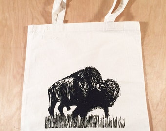 Buffalo Tote Bag Black