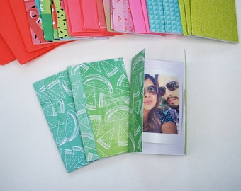 Watermelon Fuji Instax Mini picture holder party favors Summer Party Theme