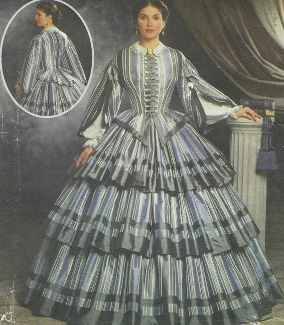 Martha McCain Womens Bürgerkrieg Tag Kleid Einfachheit Nähen
