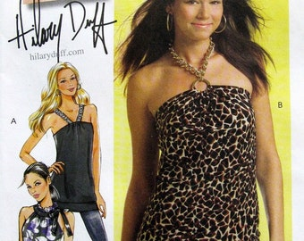McCall's Pattern M5585 Misses' Sleeveless Tops and Tunic Sizes 12-18 NEW