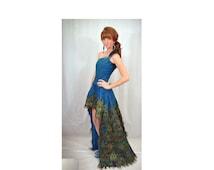 Pageant OOC Peacock National Dress Casual wear Glitz talent wear Mardi Gras New Orleans custom size 12m 18m 2T 3T 4 5 6 7 8 9 10 yrs