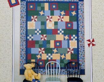 Thimbleberries | Quilt Pattern | 7 8 LAY THEM STRAIGHT | Lynette Jensen