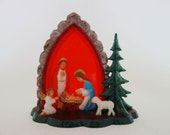 Vintage Nativity Scene Made in Western Germany
