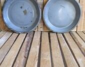 Dinner Plates - Graniteware Plates - Enamelware Plates - Splatterware  Plates - Camp Plates - Farmhouse