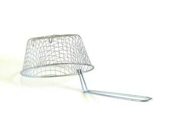 Wire Deep Fryer Basket Deep Fry Strainer