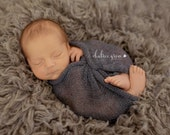 New Born Stretch Fine Knitted Wrap, Knitted Wrap,  photo Prop