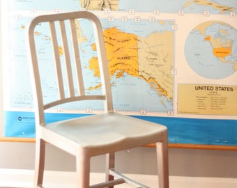 Set of 4 Emeco / Navy Chairs