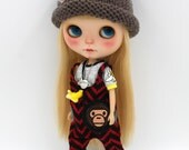 Girlish - Ape Set for Blythe doll - dress / outfit