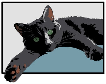 Custom Pet Vector Portrait