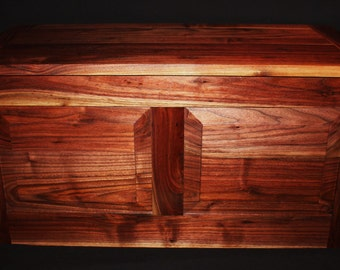 Made To Order Item - Handmade In America - Extra Large Walnut Chest/Trunk