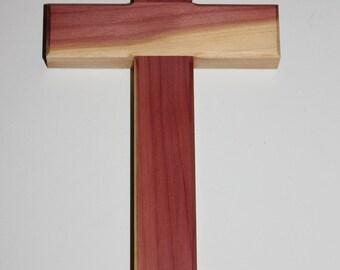 Handmade In America - Wooden Cedar Wall Cross