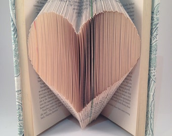 Folded Heart Book