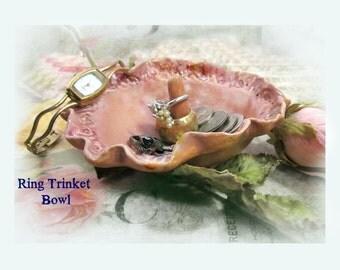 Ring Bowl, Ring Holder,  Ring dish,  Ceramic Jewelry Dish,  Pottery Ring Holder, Trinket dish 36