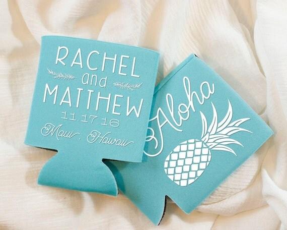 Wedding Favors, Hawaii Wedding Favors, Tropical Wedding Favors, Aloha ...