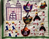 Mexican Embroidered Wall Hanging