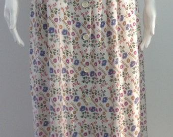 Sweet 1940's Floral Skirt