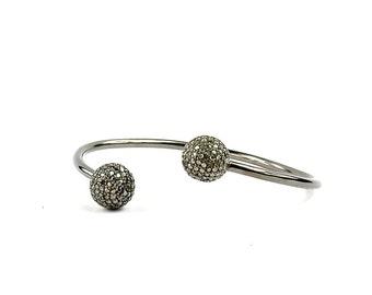 Pave Diamond Bracelet/Arm Cuff