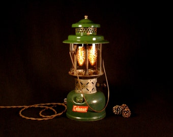 Rustic Lamp Vintage Lighting Coleman Lantern