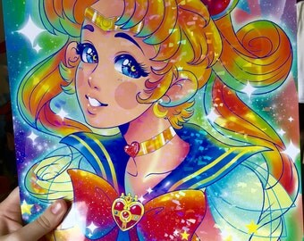 HOLOGRAPHIC 11x17 Sailor Moon Poster