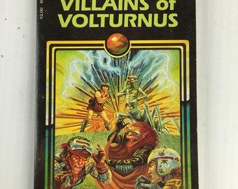 Villians of Volturnus by Jean Blashfield - Vintage Paperback 1983 Endless Quest
