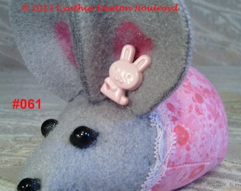 """PICK 1 > CDH """"Three Blind Mice..."""" 4"""" Infant Mouse Dolls or Pin Cushions #61 or #62"""
