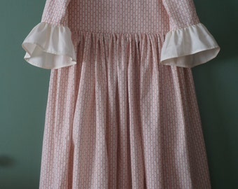 IN STOCK Girls' Colonial Dress Size 10 -ready made - Colonial Williamsburg dress - historical dress - reenacting dress - American Revolution