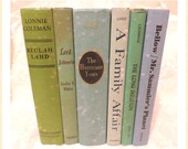 Vintage Books  Lots of Books  Colorful  Staging Home Decor Office Decor Wedding Gift