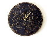 Wall Clock, Constellation Clock, Trending, Modern Wall Clock, Home and Living, Home Decor, Astrology, Astronomy Clock, Decor & Housewares