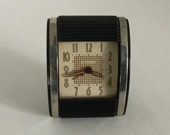 Vintage Westclock Travel Alarm Clock,Travel Clock,