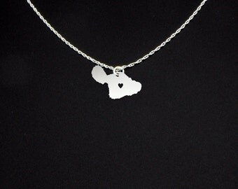Maui Necklace - Island Necklace - Maui Gift - Maui Jewelry - Gift For Daughter - Mother's Day Gift