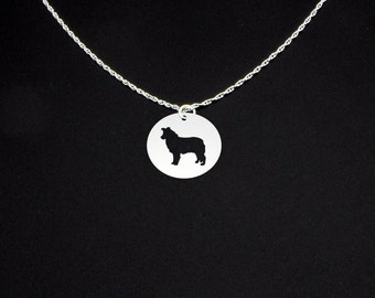 Border Collie Necklace - Border Collie Jewelry - Border Collie Gift