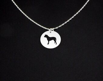 Pitbull Necklace - Pitbull Jewelry - Pitbull Gift