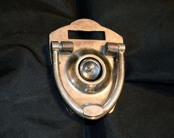 Peephole Door Knocker Vintage for the Fun Loving Cautious Homeowner