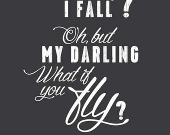 What if I Fall? - Erin Hanson, Poem quote, excerpt, Inspirational - The Poetic Underground