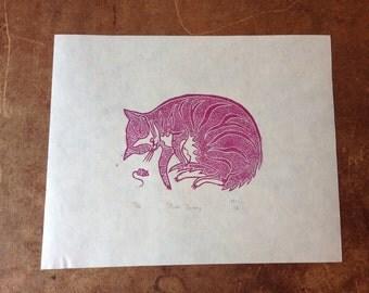 Pink Ginny Print