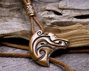 Bronze Pendant Ghost Bear