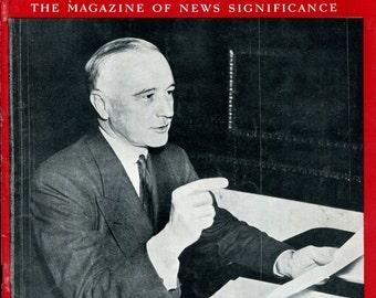 Newsweek July 24 1939 Harrington WPA World War Two History Birthday Birth Date Gift Vintage Magazine