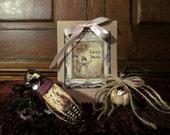 FAIRY BELLS: Fairies, Fae, sprites, mystical creatures, thimble, incense, fairy ring, ritual, altar, kit, summoning, Bells, flower pods