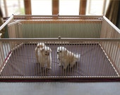 6'x4' Super-large Indoor Exercise Pen for small and medium-sized dogs - A Fantastic, Secure and Safe All-day Indoor Play Area!