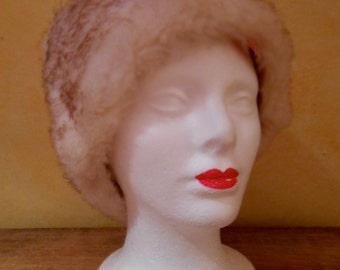1960 Audry Hepburn Style Fashion Vintage Sheep Hat