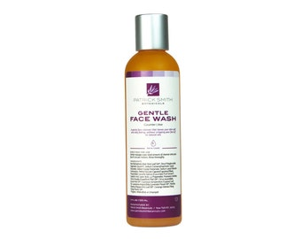 Face Wash - Aloe & Cucumber Extract - Gentle Foaming Cleanser - 4 oz. - Cruelty-free, certified by Leaping Bunny