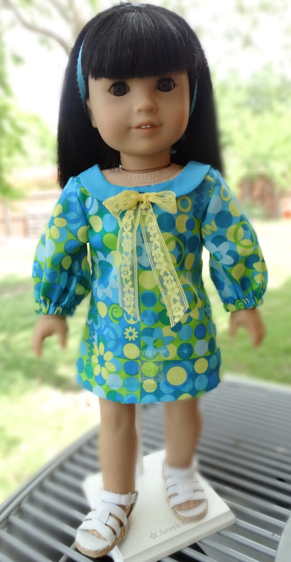 18 Doll Clothes 1960 S 1970 S Style Dress Fits