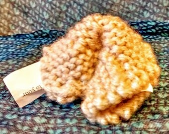 Knit Fortune Cookie